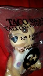 Taco Bell Talking Chihuahua Your Getting Hungry Dog W Napkin Applause Plush