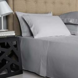 1000 Tc New Egyptian Cotton Hotel Bedding All Us And Rv Size Silver Grey Solid