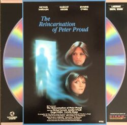 The Reincarnation Of Peter Proud Laserdisc Extended Play Single Disc Rare