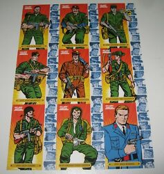 2013 Sgt Fury And His Howling Commandos 50th Anniver. Character Set C1-c9 +sketch+