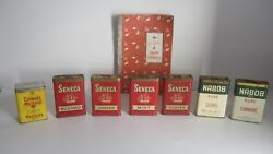 7 Rare Vintage Spice Tins Nabobsenecacolmanand039s Mustard And 1950 Spice Book