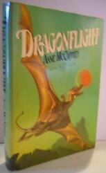 Dragonflight Signed By Anne Mccaffrey First Edition First Printing 1978