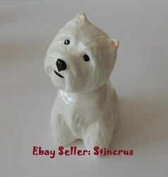 West Highland White Terrier dog Realistic Author's Porcelain figurine New 2019