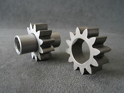 Lycoming O-320 H2ad Oil Pump Gears P/n Lw-15068 And Lw-15347