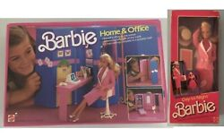 Barbie Day To Night + Home And Office Ref.7897 New 1984