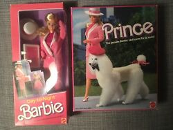 Barbie Day To Night Made In Malaysia And The Poodle Pet Nrfb 1985