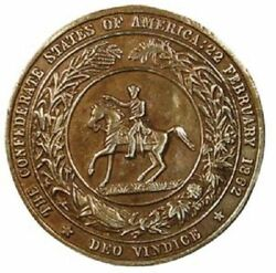 Antique Style Military Civil War Confederate Csa Belt Buckle Plate Solid Brass