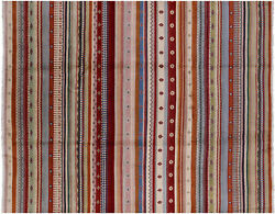 7and039 10 X 10and039 0 Gabbeh Loribaft Hand Knotted Rug - P7361