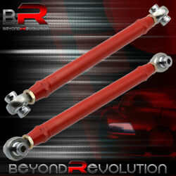 Adjustable Pillowball Red Rear Racing Toe Arms For 16-19 Chevy Chevrolet Camaro