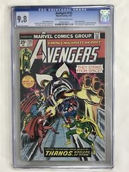 Avengers #125 Thanos Warlord of Titan Marvel Comic Book Graded CGC 9.8