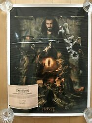 The Hobbit The Desolation Of Smaug Movie Poster Lithograph Road Of The Ring