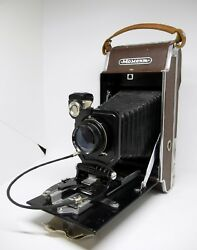 Moment Old Vintage Ussr Polaroid Camera 16 .8 F = 135mm Very Rare, Collector's