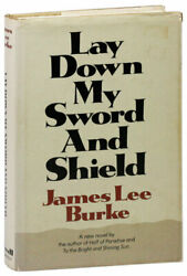 James Lee Burke-lay Down My Sword And Shield1971-1st W/signed Bookplate Nf/vg+