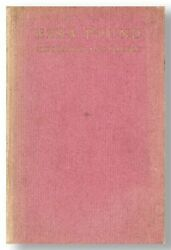 Anonymous [t.s. Eliot] Ezra Pound His Metric And Poetry. 1st Ed., 1917 [but 1918]