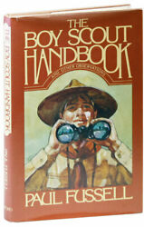 Paul Fussell-the Boy Scout Handbook And Other Observations 1982-1st Ed, Fine/nf