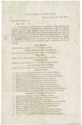 Hubbard Special Orders No. 139 West Tennessee Infantry Of African Descent 1863