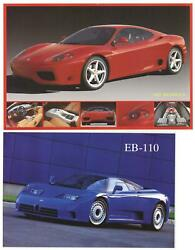 Bundle- 2 Assorted Sports Car Posters