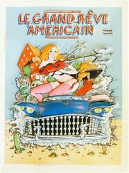 Huger And Bourg Le Grand Randecircve Americain 1st Ed 1988 3d Printed French Comic Book