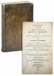 Paul Wright D.d. New And Complete Life Of Jesus Christ Winchester Va 1818