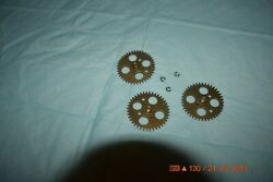 Grandfather Clock Moon Calendar Wheels For Parts Or Project