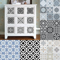 Art Tile Mosaic Stickers Kitchen Bathroom Wall Stickers Home Dining Room Decor