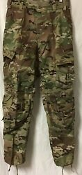 Us Army Multicam Advanced Combat Pant, Small Short, W/o Crye Knee Pads, Nwt