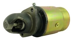 New 12v Usa Built Conversion Starter Fits Massey Ferguson Tractor To20 To30 To35