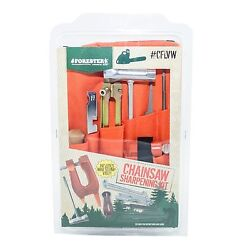 Cflvw532, Chainsaw Deluxe Sharpening Kit W/ Stump Vice,for Small Saws 5/32 File
