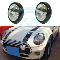 2pcs Auto Rally Light Front Driving Lamp Replace Fit Fog Light Lamp For BMW MINI