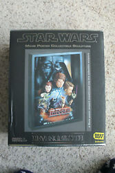 2005 Code 3 Star Wars Revenge Of The Sith Legendary Casts Movie Poster Sculpture