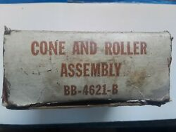 Bb-4621-b Fomoco New Bearing Cone And Roller Assembly See Listing