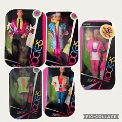 Barbie And The Rockers Full Line Nrfb 1985