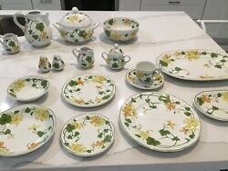Villeroy And Boch Geranium 4 Cereal Bowls Discontinued Pattern
