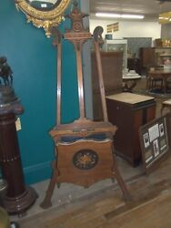 Antique Art Display Easel American Renaissance 1800and039s