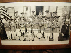 Rare Drum And Bugle American Legion Edgar Boyd Post No 37 And Roster Williston Nd