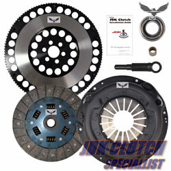 Jd Stage 2 Clutch Kit And Racing Flywheel Fits 89-98 Nissan 240sx 2.4l 5-speed