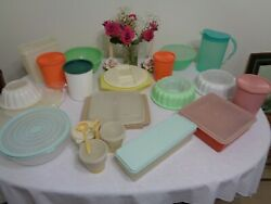 Tupperware Large Jello Mold Canisters Devil Egg Cereal And Celery Keeper U-pick