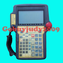 1pc Used Fanuc Teach Pendant A05b-2301-c301  Tested In Good Condition