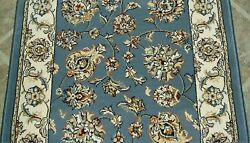 Rug Depot Traditional Oriental Hall And Stair Rug Runner - 31 Wide Light Blue