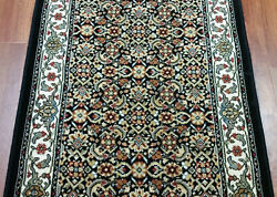 Rug Depot Traditional Oriental Hall And Stair Runner - 31 Wide Black Rug Runner