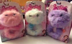 Pomsies Interactive Plush Toy Lot 3 Blossomsnowball And Speckles Mib Hot Hot