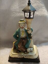 Hobo On Lamppost Light Collectible $13.99