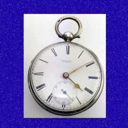 Immaculate Silver Chain Fusee Robert Roskell Of Liverpool Pocket Watch 1835