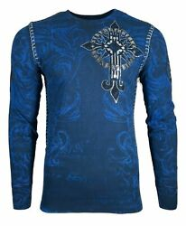 Xtreme Couture By Affliction Accuser Menand039s T-shirt Thermal