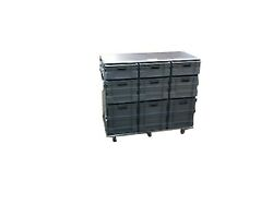 Roll Cabinet / Flight Cases With Storage Boxes / Flight Case Work Station X 2