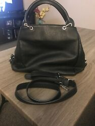Black Hobo Purse Gently Use Great Condition $15.00