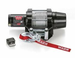 Warn Vrx 3500lb Atv Winch Complete Kit For Yamaha 2002-2008 Grizzly 660 4x4