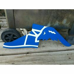 Blue Goodyear Tires Metal Service Station Blue/white Muscle Cars Deco Hot Rod