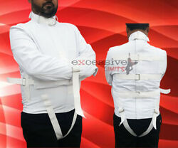 Canvas Men Straitjacket White Color Return Accepted In Usa
