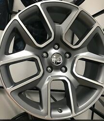 Fits 22 2019 Ram Grey 33 All Season Tires Wheels Rims For 1500 5 Lug 02 03 04